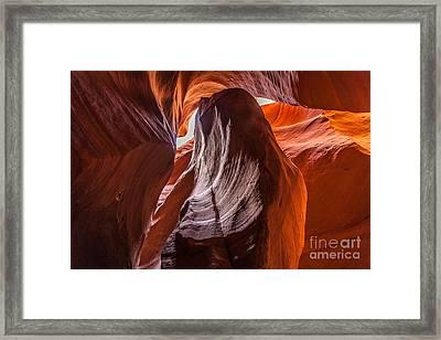 Selective Sand Framed Print