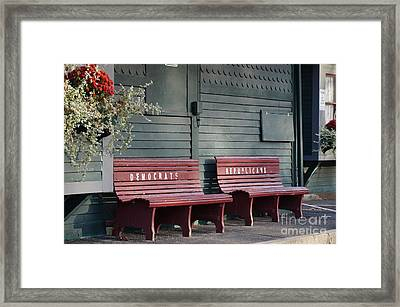 Selective Seating Framed Print