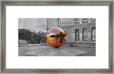 Selective Sphere Framed Print by Betsy Knapp
