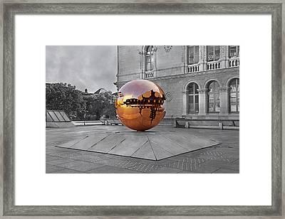 Selective World Framed Print by Betsy Knapp
