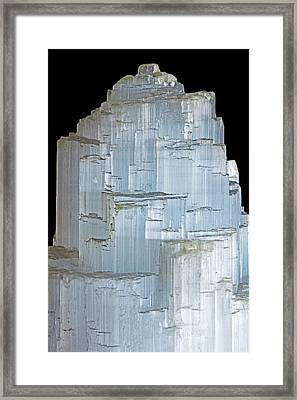 Selenite Framed Print