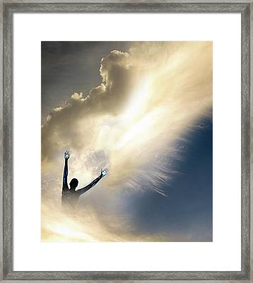 Self Actualisation Framed Print by Tim Vernon