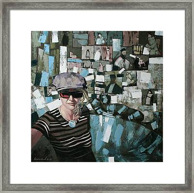 Self Framed Print by Anastasija Kraineva