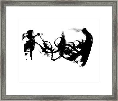 Self Framed Print by Christian Allen