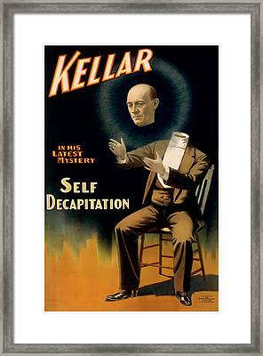 Self Decapitation Framed Print