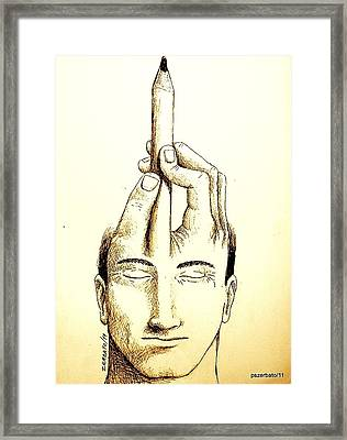 Self-expression Framed Print by Paulo Zerbato