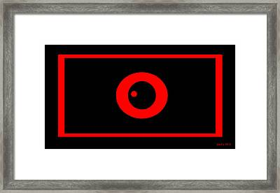 Self Hypnosis Tools  Time Travel Framed Print