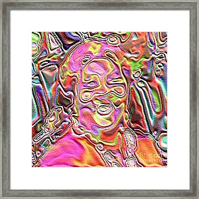 Framed Print featuring the digital art Self by Jacqueline Lloyd