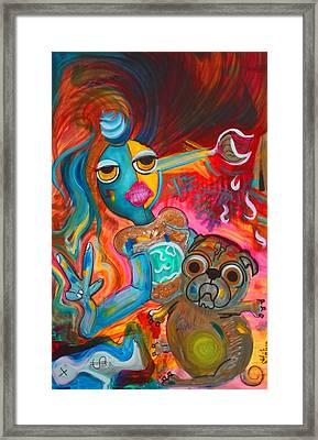 Self Framed Print by Laura Barbosa