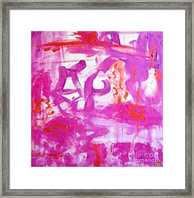 Framed Print featuring the painting Self-love by Ilona Svetluska