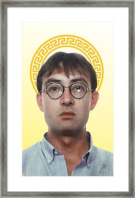 Self Portrait  Framed Print by Joaquin Abella