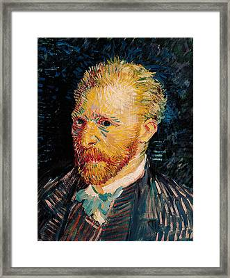 Self Portrait, 1887  Framed Print by Vincent van Gogh