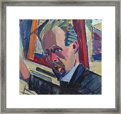 Self Portrait Framed Print by Alexander Bogomazov