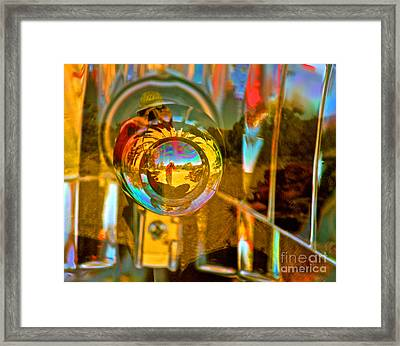 Self Portrait 2 Framed Print by Michael Cinnamond