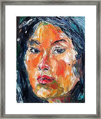 Self Portrait 2013 -3 Framed Print