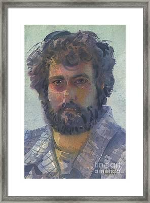 Self-portrait 27 Framed Print by Donald Maier