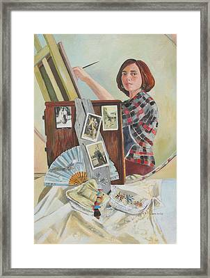 Self Portrait Age 33 Framed Print