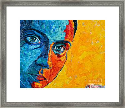 Self Portrait Framed Print by Ana Maria Edulescu