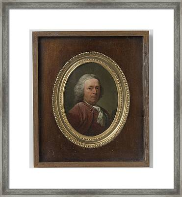 Self-portrait, Dionys Van Nijmegen Framed Print by Litz Collection