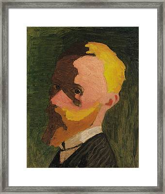 Self Portrait Framed Print by Edouard Vuillard