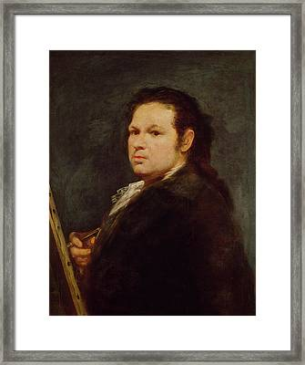 Self Portrait Framed Print by Goya