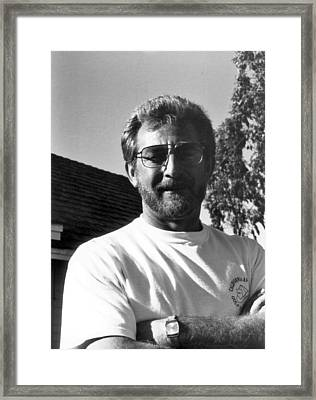 Framed Print featuring the photograph self portrait II by Gary Brandes