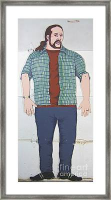 Self Portrait In Full Scale Framed Print