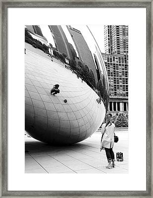 Self Portrait Framed Print by John Rizzuto