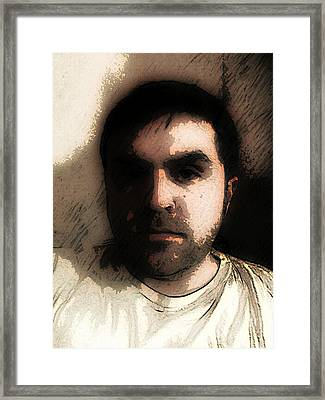 Self Portrait Framed Print by Jose Benavides