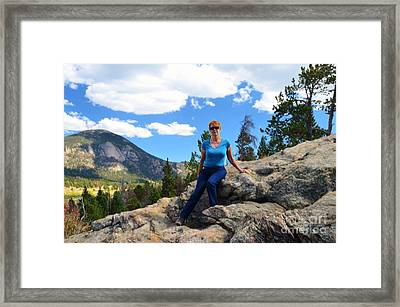 Self Portrait Framed Print by Kathleen Struckle