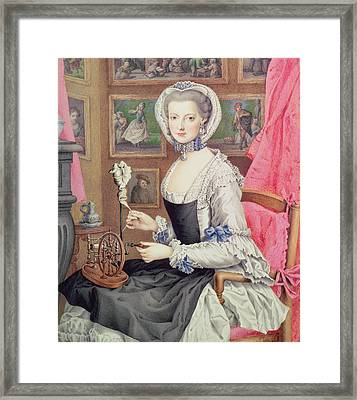 Self Portrait Framed Print by Maria Christine