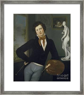 Self Portrait  Framed Print by Celestial Images