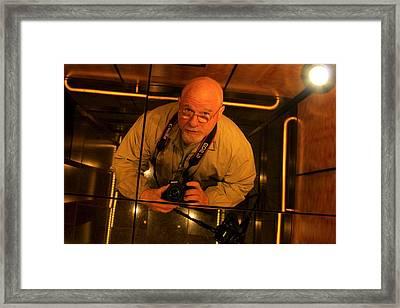 Self Portrait Framed Print by Reid Callaway