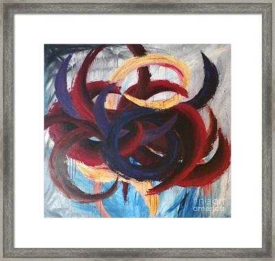 Self-portrait Framed Print by Silvie Kendall