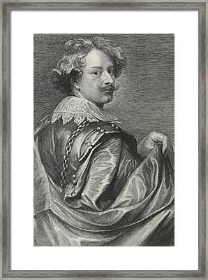 Self Portrait Framed Print by Sir Anthony van Dyck