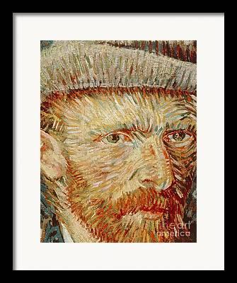 Van Goghs Ear Framed Prints