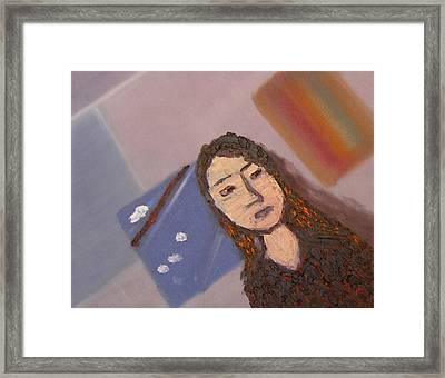 Self-portrait2 Framed Print