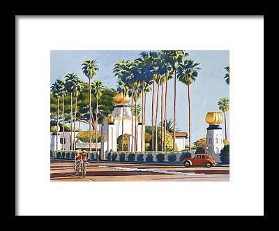 Palm Tree Framed Prints