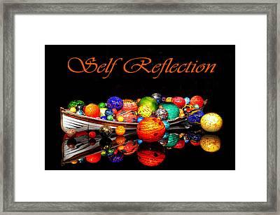 Self Reflection Framed Print by Kelly Reber