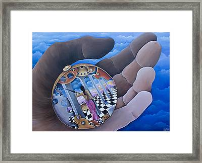 Self Rumination Framed Print by Pamela  Perran-Gosnell