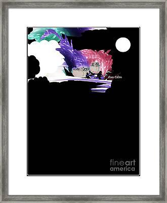Selfless Souls Framed Print