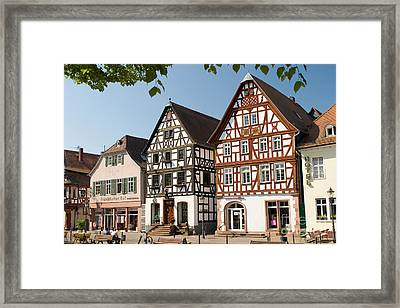 Seligenstadt, Germany Framed Print by Andreas Pulwey