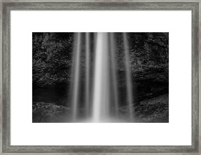 Seljalandsfoss 1 Framed Print by Dave Bowman