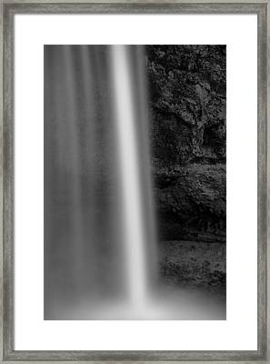 Seljalandsfoss 2 Framed Print by Dave Bowman