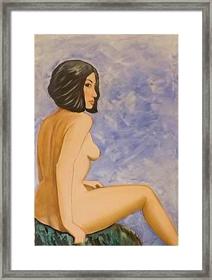Selkie Wife Framed Print