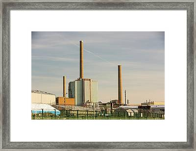 Sellafield Nuclear Power Station Framed Print