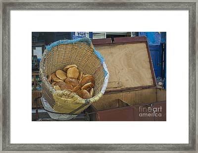 Selling Pita Bread Framed Print by Patricia Hofmeester