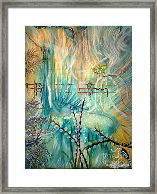Selva Sfumato Framed Print by Adriana Garces
