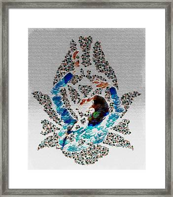 Sema With Callicography Framed Print