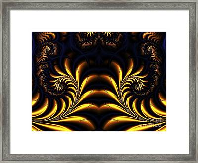 Semiconduction Framed Print